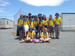 Birralee Scouts and Wallaroo all set to go!
